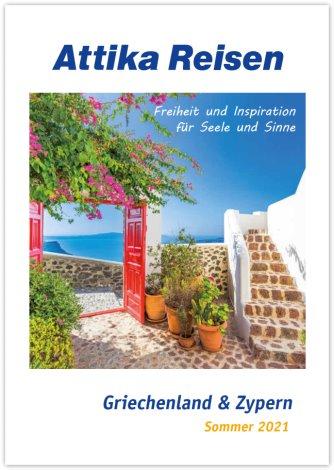 Reisekatalog: Attika Reisen - Griechenland & Zypern 2010