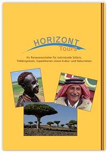 Reisekatalog: Horizont Tours - Kultur-, Natur- und Aktivreisen