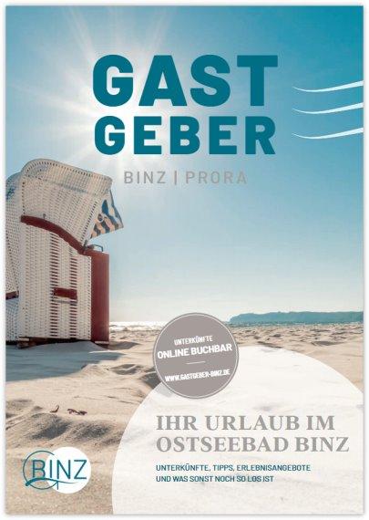 Reisekatalog: Kurverwaltung Ostseebad Binz - Binzer Urlaubskatalog