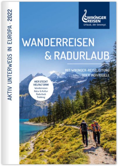 Reisekatalog: Wikinger Reisen GmbH - Rad-Urlaub